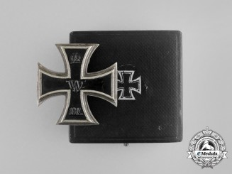 An Iron Cross First Class with Case