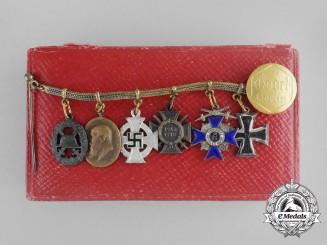 Bavaria, Kingdom. A Merit Order Miniature Group, by Godet with Case