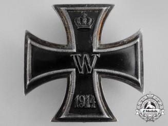 An Iron Cross 1914 First Class; Engraved