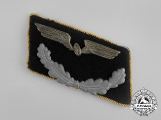A Deutsche Reichsbahn (National Railway) Official's Collar Tab