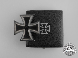 A Mint Iron Cross 1939 First Class in its Original Case of Issue