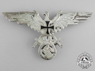 A German Veteran's Association (Deutscher Kriegerbund) Breast Eagle