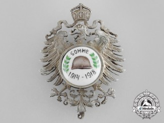 A First War German Somme Veteran's Badge