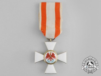 A Fine Prussian Order of the Red Eagle; 3rd Class in Gold