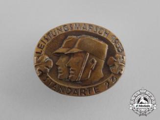 A 1933 SA Standarte 23 Endurance Marching Event Badge