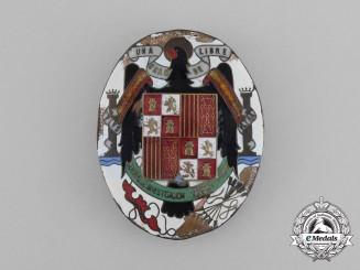 A Scarce Spanish Gestapo Secret Police Badge