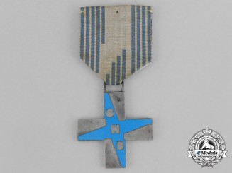 "Italia, Fascist State. A Youth ""Opera Nazionale Balilla"" (ONB) Cross of Merit for Girls"