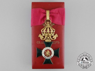 A Bulgarian Order of St. Alexander; 3rd Class Commander