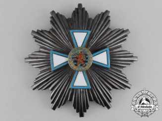 An Order of Merit of Luxembourg; Breast Star