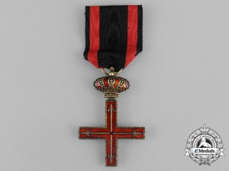 Spain. A Royal Military Estamento of the Principality of Gerona; Breast Badge, c.1895