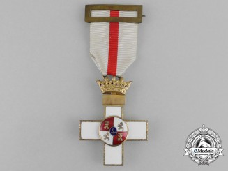 A Spanish Order of Military Merit; 1st Class Cross with White Distinction