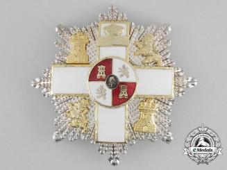 Spain, Kingdom. An Order of Military Merit, II Class Star, c.1990