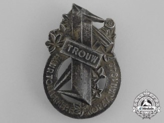 A Rare Dutch Tollenaere Honour Badge