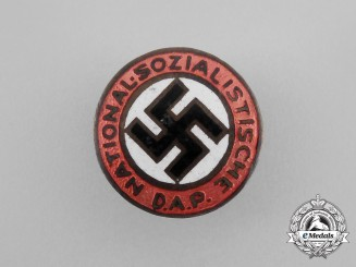 An Early Third Reich Period NSDAP Membership Badge