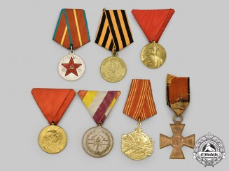 Austria, Russia, Serbia, Yugoslavia. A Lot of Seven Awards