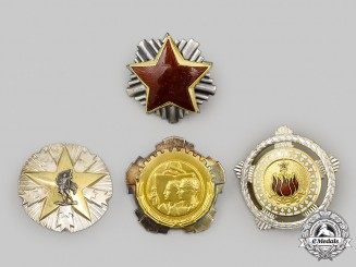 Yugoslavia, Socialist Federal Republic. A Lot of Three Orders and One Badge
