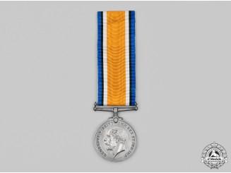 Canada. A British War Medal, 73rd Infantry Battalion, Canadian Machine Gun Brigade