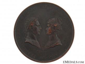Francis I & Carolina Table Medal