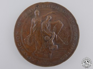 Chile, Republic. An 1810-1910 International Exposition of Fine Arts Medal