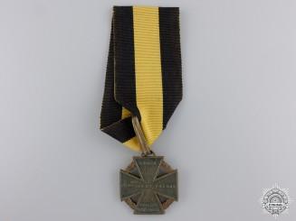 """An 1813-14 Austrian Army Cross; """"Kanonenkreuz"""""""
