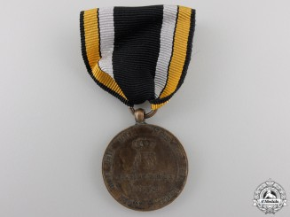 An 1813 Prussian War Merit Medal for Combatants