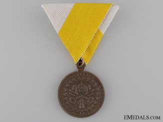 An 1849 Medal for the Siege of Rome