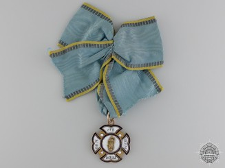 An 1850's Bavarian Order of St. Anna in Gold