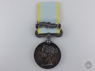 An 1854-56 Crimea Medal to the Royal Artillery