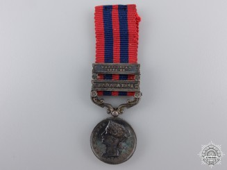 An 1854 Miniature India General Service Medal