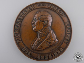 An 1859 Austrian Johann Franz Kempen Fiftieth Year in the Army Medal