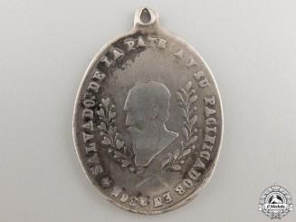 An 1865 Bolivian General Mariano Melgarejo Medal