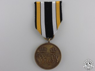 An 1866 Prussian Campaign Medal  for the Denmark War