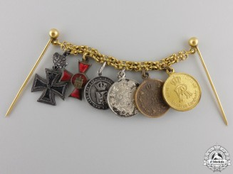An 1870 Iron Cross Miniature Group