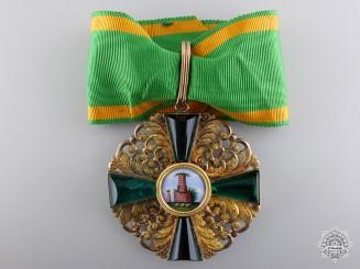 An 1880-1900 Order of the Zähringen Lion; First Class Cross