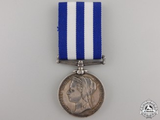 An 1882-1889 Egypt Medal to the H.M.S. Tamar