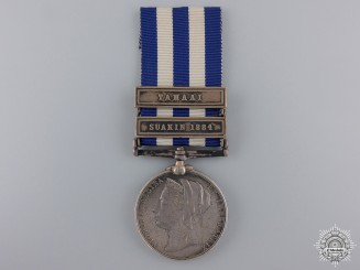 An 1882 Egypt Medal to H.M.S. Seagull