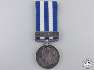 An 1882 Egypt Medal to the Duke of Cornwall's Light Infantry