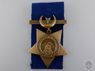 United Kingdom. An 1882 Khedive's Star, 3rd King's Royal Rifles