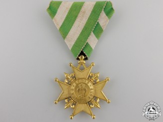 An 1887 Bulgarian Knyaz Ferdinand I Election Medal