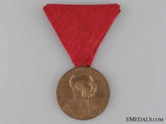 "An 1898 Austrian Commemorative Medal ""Signvm Memoriae"""