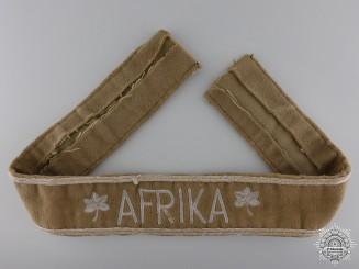 An Afrika Campaign Cufftitle