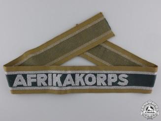 An Afrikakorps Campaign Cufftitle