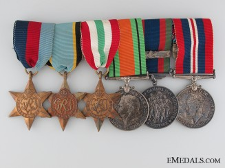 An Air Crew Europe Italian Campaign Medal Bar