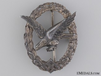An Air Gunner Badge by W. Deumer, Lüdenscheid