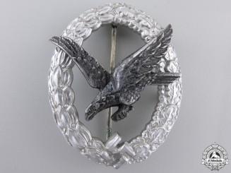 An Air Gunner Badge without Lightning in Aluminum by Assmann
