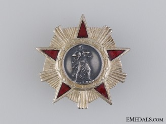 An Albanian Order of Liberty; 2nd Class