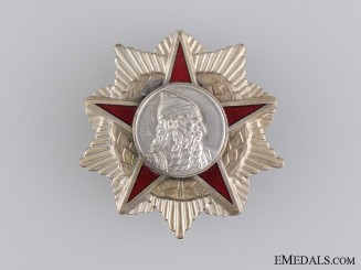 An Albanian Order of Skanderbeg; 2nd Class