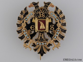 An Albanian Order of Fidelity; Officer's Cross