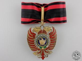 An Albanian Order of Skanderbeg; Commander