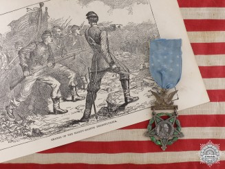 An US Civil War Medal of Honor for Action at Weldon RailroadConsignment 21